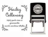 Self-Inking Personalized Address Stamp - CS3614
