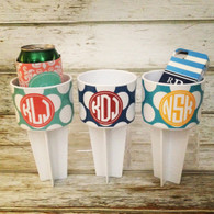 Personalized Beach Spikers Sand Cup Holders