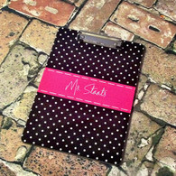 Personalized Monogram 2 Sided Clipboard