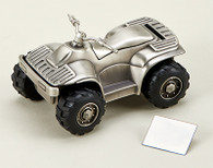 ATV All Terrain Vehicle Money Bank Piggy Bank Gift