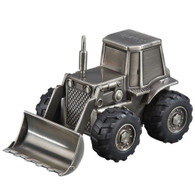 Front Loader Tractor Money Bank Piggy Bank Gift