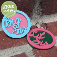 Custom Sorority Sisters Key Chains