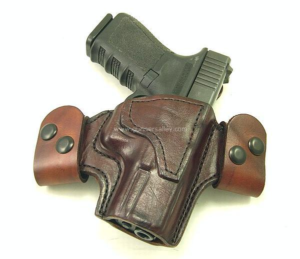 mtr custom deluxe full-size quicksnap holster