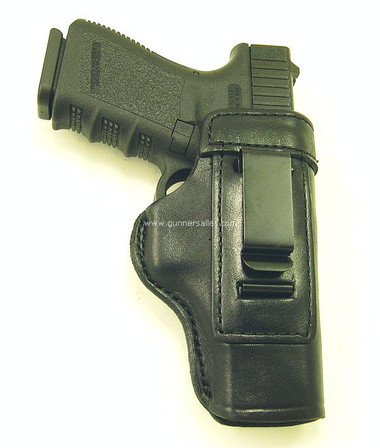 Front View - RH Black - Shown with a Springfield XD SubCompact 9mm for Demonstration Purposes