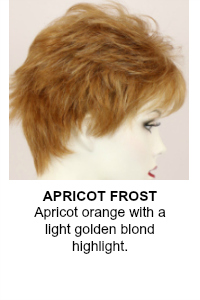 Apricot Frost Wig Color