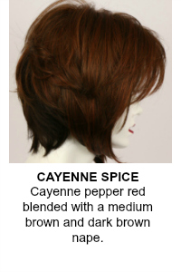 Cayenne Spice Wig Color