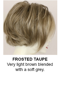 Frosted Taupe Wig Color