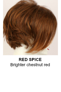 Red Spice Wig Color