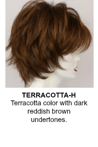 Terracotta Wig Color