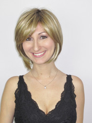 Vicki Monofilament Wig with Roots in Creamy Toffee-R.