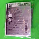 Enema Ring Fluid Collection Device