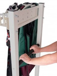 5 Arm Apron Rack