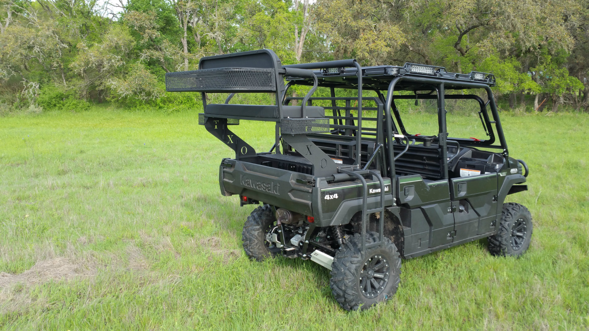 Kawasaki Mule Pro Fxt High Seat Texas Outdoors