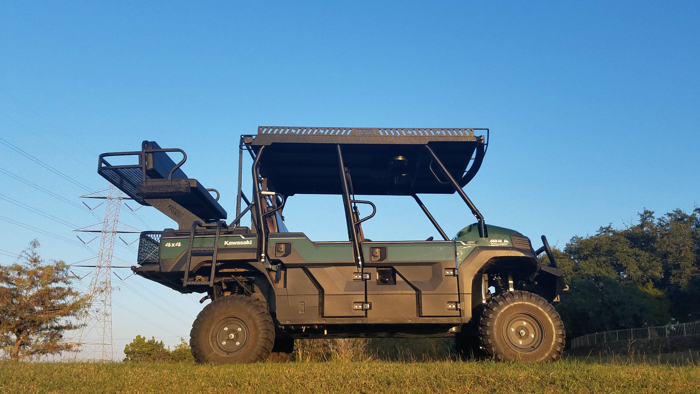 Rhino Liner Cost >> Kawasaki Mule Pro FXT High Seat - Texas Outdoors
