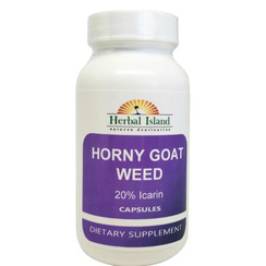Horny Goat Weed Extract Capsules (20% Icarin)