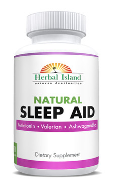 Sleep Aid - 60 Capsules - All Natural Formula