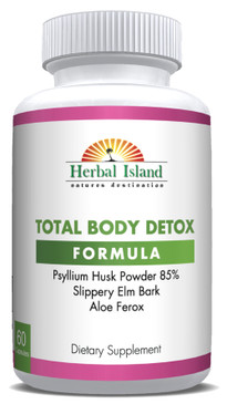 Total Body Detox - All Natural - 60 Capsules