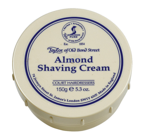 Taylor of Old Bond Street Almond Shave Cream 150g