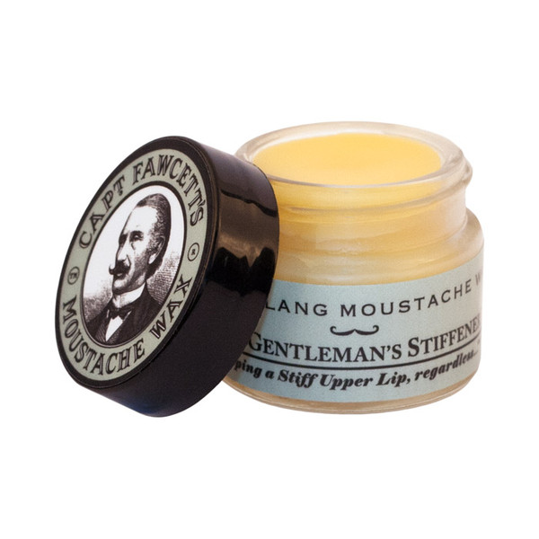 Captain Fawcetts Ylang Ylang Moustache Wax 15ml Open