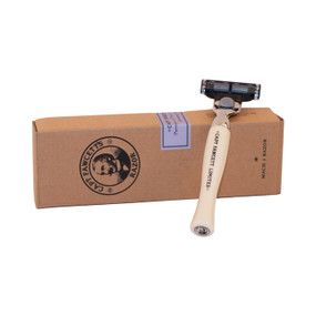 Captain Fawcett Finest Hand Crafted Safety Razor MACH3 Unboxed