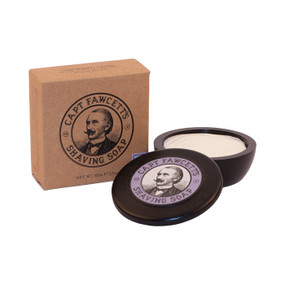 Captain Fawcetts Luxurious Shaving Soap Unboxed Open