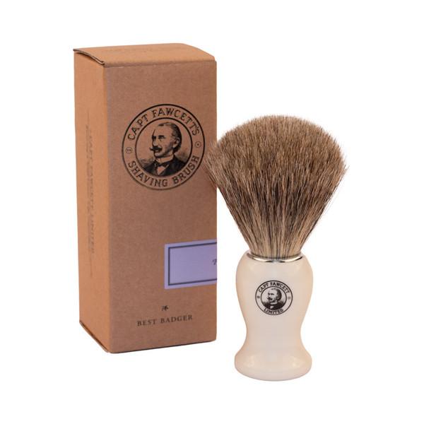 Captain Fawcett 'Best' Badger Shaving Brush Unboxed