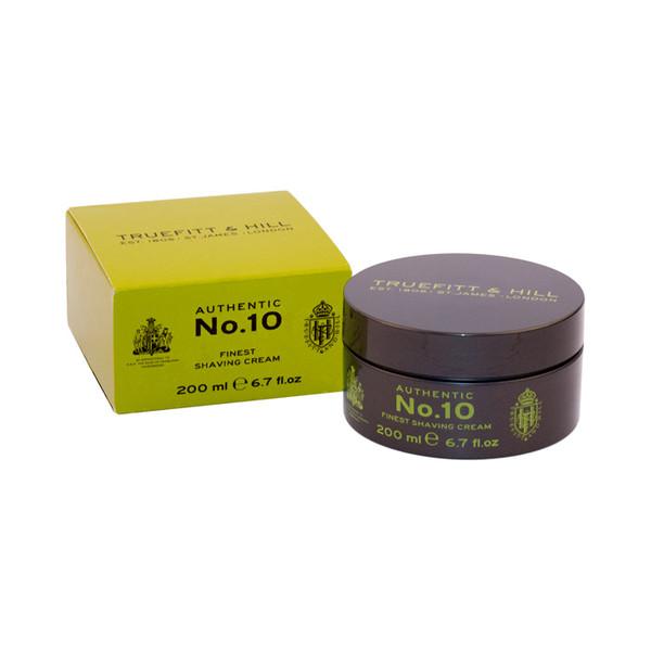 Truefitt and Hill Authentic No. 10 Finest Shaving Cream 200ml