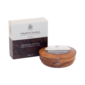 Truefitt and Hill Sandalwood Shaving Soap Bowl 99g