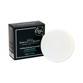 Edwin Jagger Traditional Shaving Soap Cooling Menthol 65g - Refill