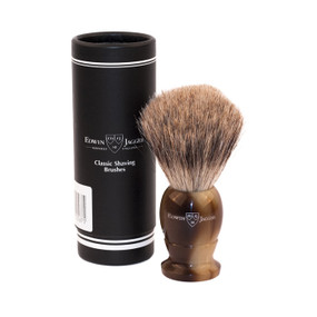 Edwin Jagger Best Badger Shaving Brush - Medium Imitation Light Horn
