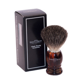 Edwin Jagger Best Badger Shaving Brush - Imitation Tortoise Shell