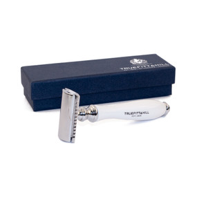 Truefitt and Hill Wellington Double Edge Safety Razor - Porcelain