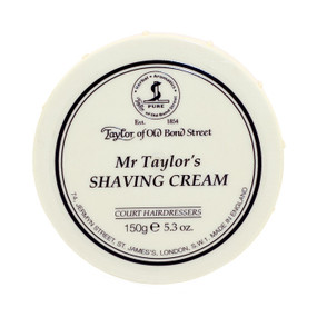 Taylor of Old Bond Street Mr. Taylors Shave Cream 150g