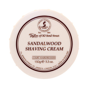 Taylor of Old Bond Street Sandalwood Shave Cream 150g