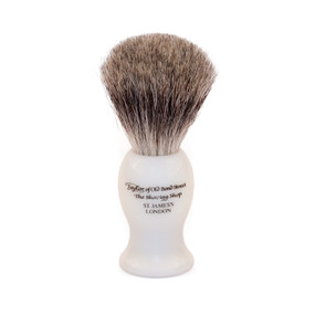 Taylor of Old Bond Street White Large Pure Badger Brush