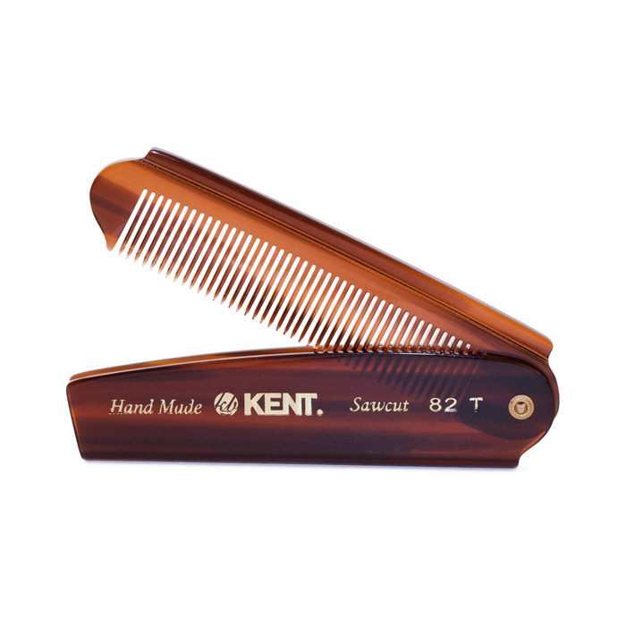 kent folding beard comb stubble and strife. Black Bedroom Furniture Sets. Home Design Ideas