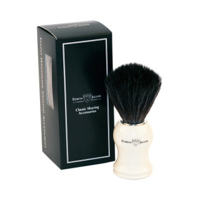 Edwin Jagger Fibre Synthetic Brush - White
