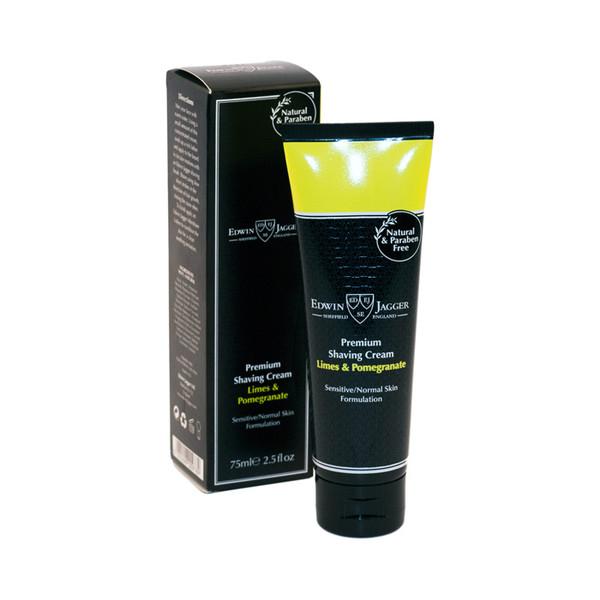 Edwin Jagger Premium Shaving Cream - Limes, Pomegranate 75ml