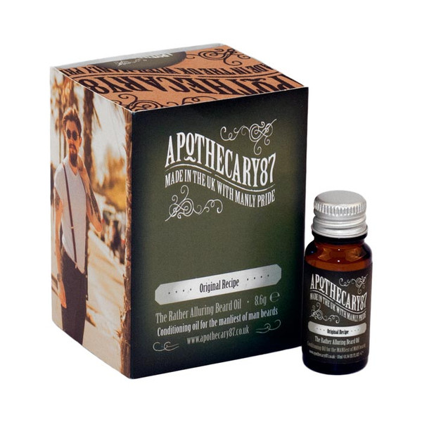 Apothecary87 The Original Recipe Beard Oil 10ml Unboxed