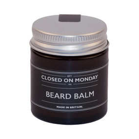 Closed on Monday Beard Balm 30ml Front