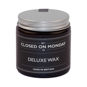 Closed on Monday Deluxe Wax 100ml Front