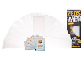 ZEOS Paper Waxing Strips Refill + 6 Wipes - 2
