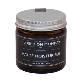 Closed on Monday Matte Moisturiser 60ml Front