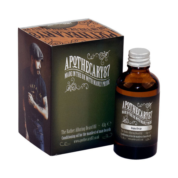 Apothecary87 The Original Recipe Beard Oil 50ml Unboxed