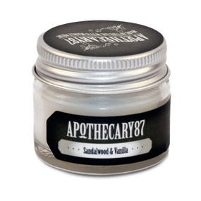Apothecary87 The Powerful Moustache Wax Sandalwood and Vanilla 16g Jar