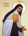 Saint Teresa of Jesus - Gold