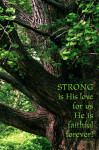 Strong Is His Love