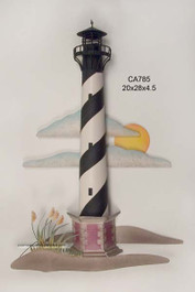 Hatteras Lighthouse Metal Wall Art