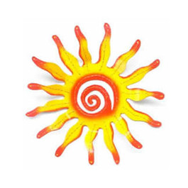 Sun Metal Wall Art
