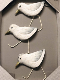 SANDPIPERS RUNNING SET OF 3 WASHED FINISH